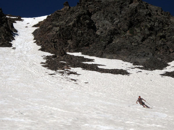 , Trip Report: Skiing under the June Supermoon