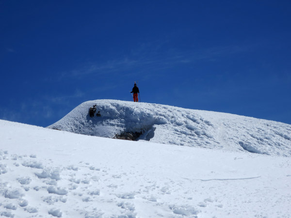 Standing on the summit