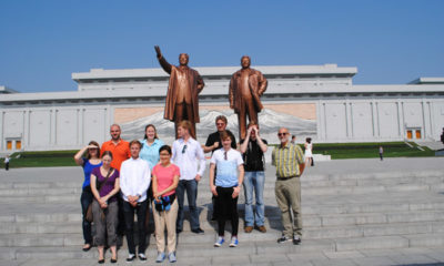 Hanging out in North Korea