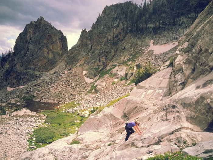 , Lake of the Crags, Grand Teton National Park