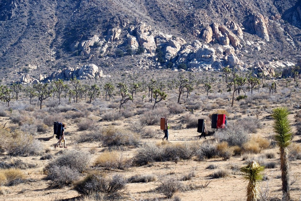 There is so much untapped potential in Joshua Tree for hard, futuristic lines