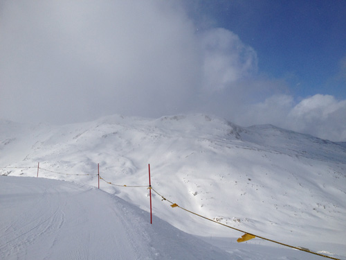 Endless ski and snowboard lines abound with such easy access