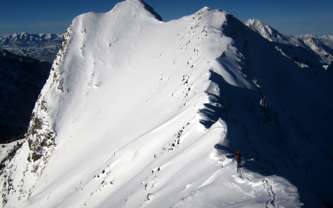 Wasatch Line: Skiing Monte Cristo Directissimo