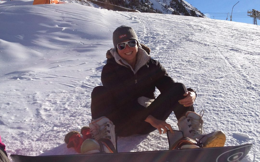 Learning to Snowboard and Coping with Withdrawals