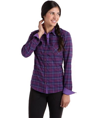 KÜHL's Feminine Flannel is a New Fall Favorite