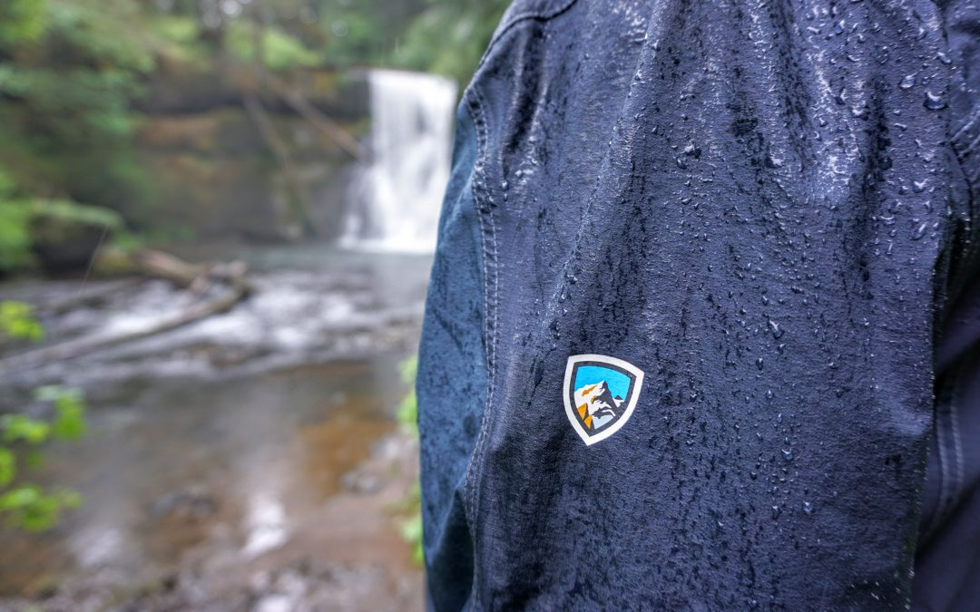 Staying Dry on Trail of Ten Falls with KÜHL Jetstream Jackets