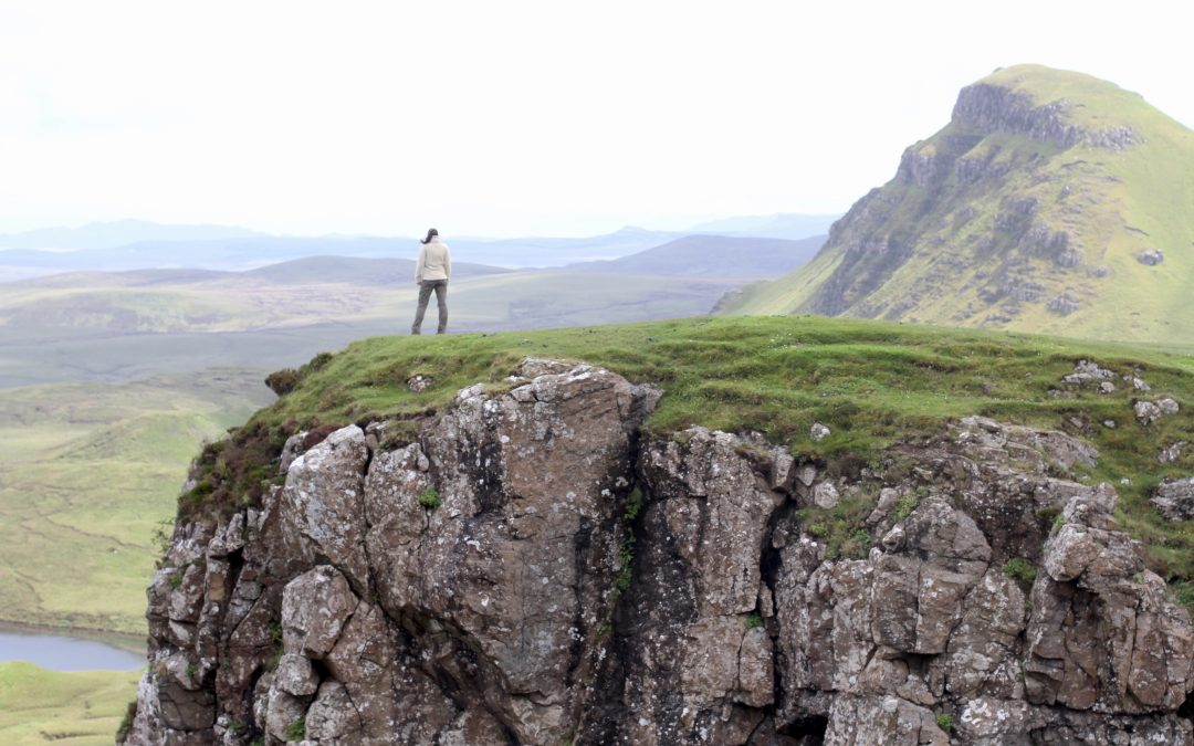 Exploring the Isle of Skye in the Scottish Highlands