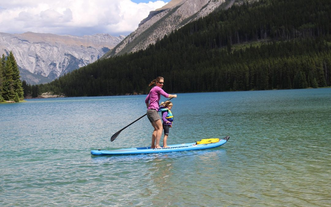 Paddling Paradise: SUP the Canadian Rockies