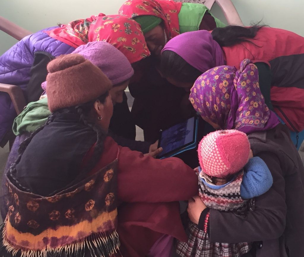 Zanskar_Hospital_WomenHuddle