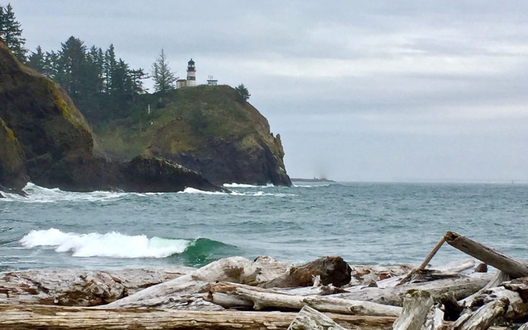 Soggy, Happy Weekend at Cape Disappointment