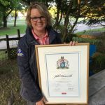 Jill's proclamation as Explorer in Residence for the Royal Canadian Geographical Society