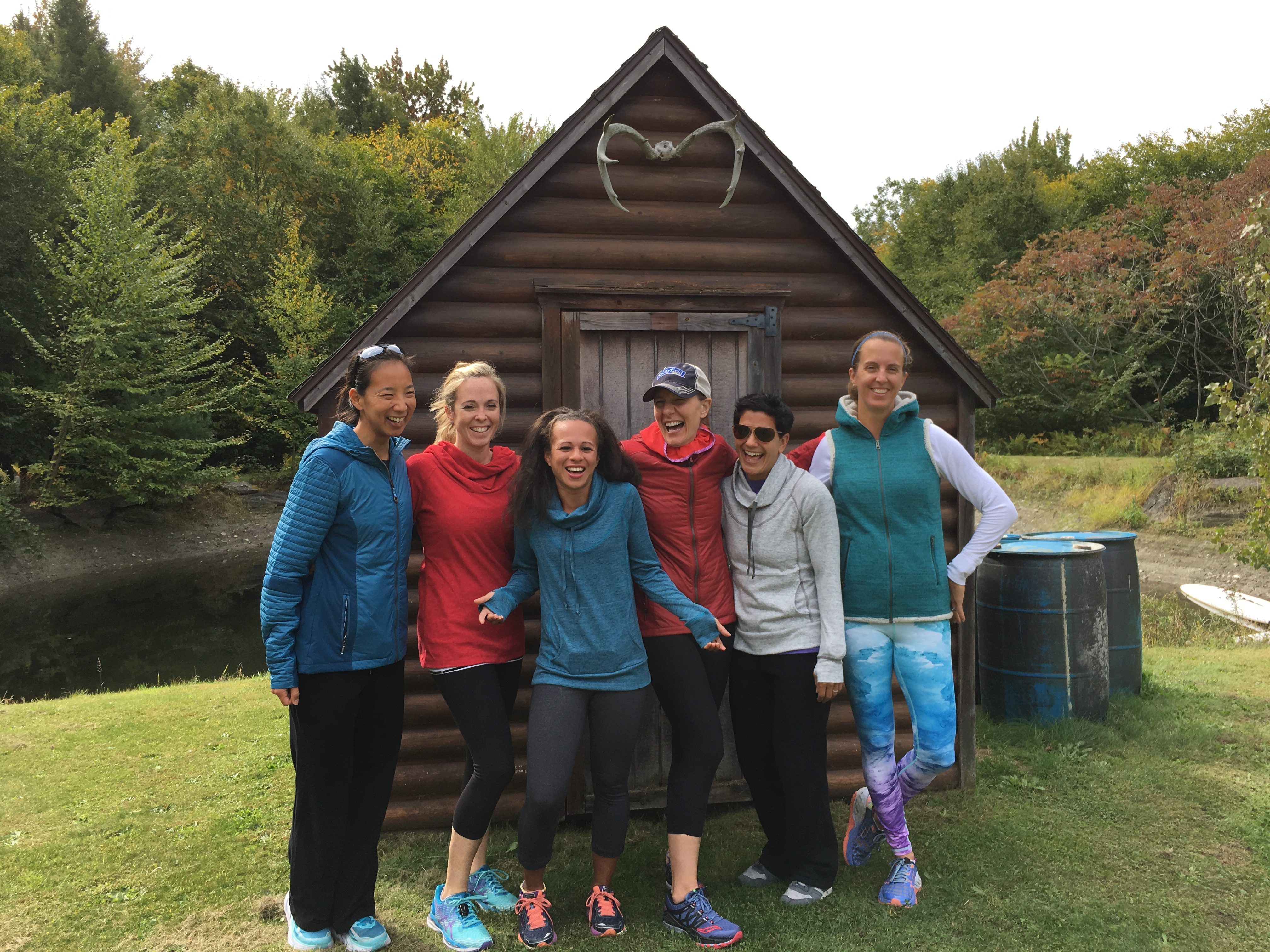 Rise, run retreat group photo on KUHL Born in the mountains blog