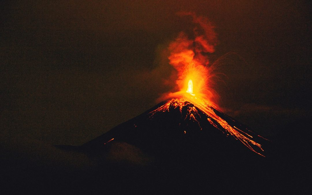 Capturing a Volcano's Sights and Sounds from Above: Part I