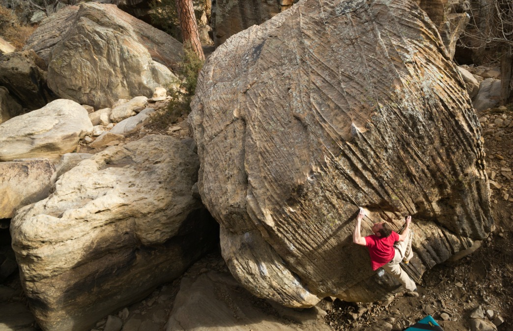 The Top 5 Bouldering Areas in New Mexico