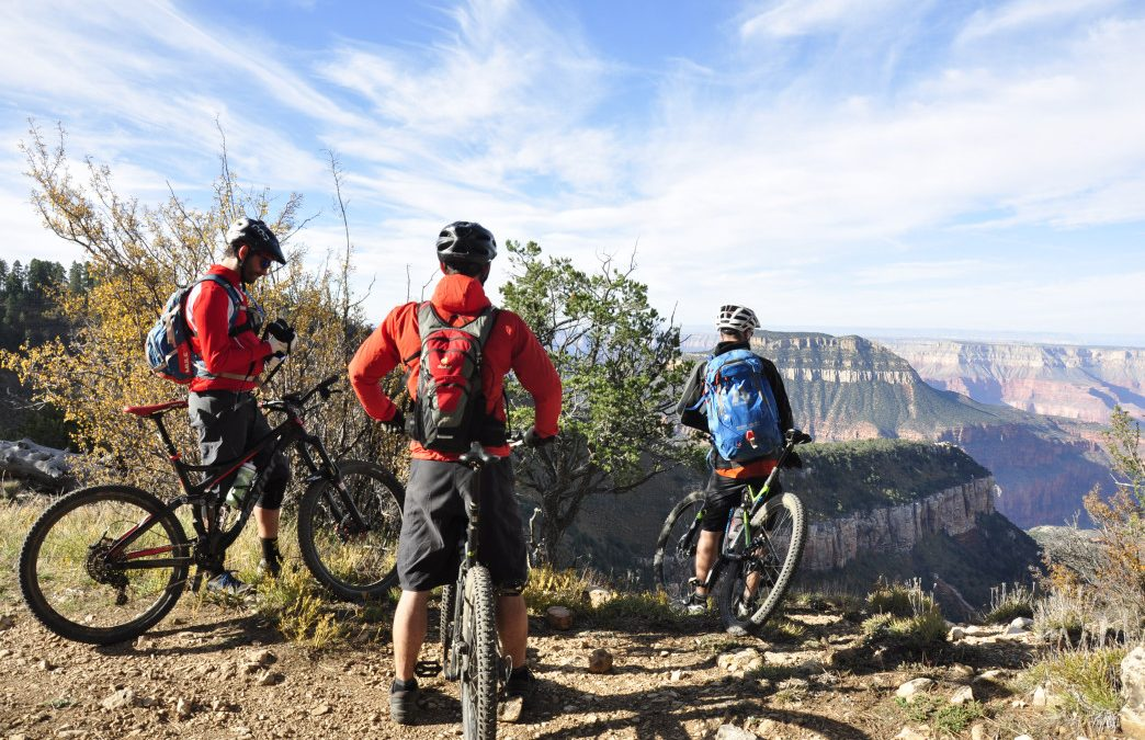 The Rainbow Rim Trail: The Only Place to Mountain Bike Along the Grand Canyon