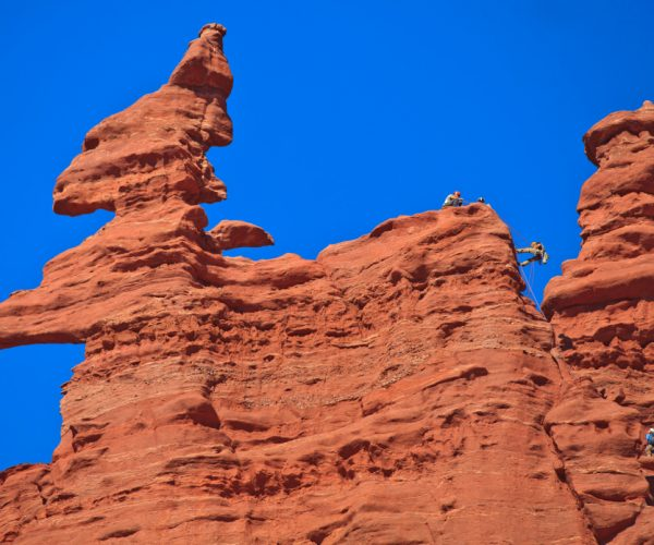 20170705_Utah_Moab_Fisher Towers_Climbing