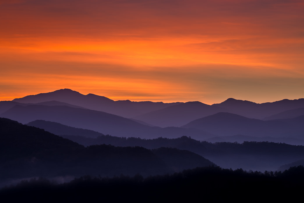 20170720_Great Smoky Mountains_Dawn_Feature