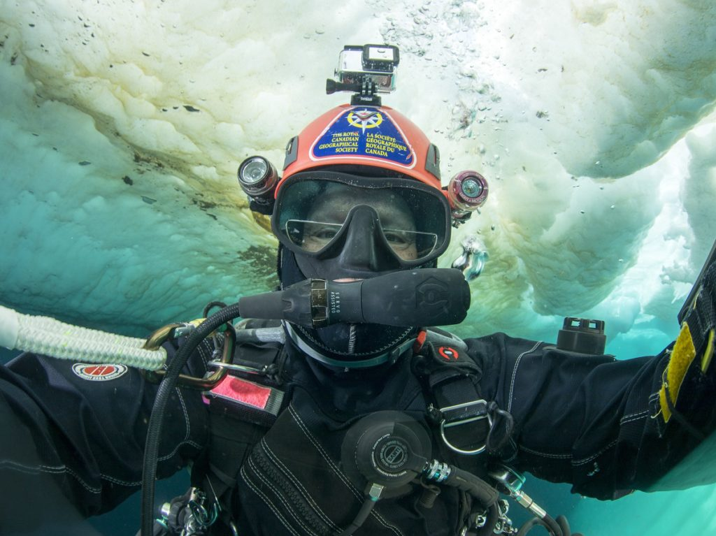Jill Heinerth, Last Ice: Jill Heinerth Dives Under Icebergs to Illustrate Issues of Climate Change