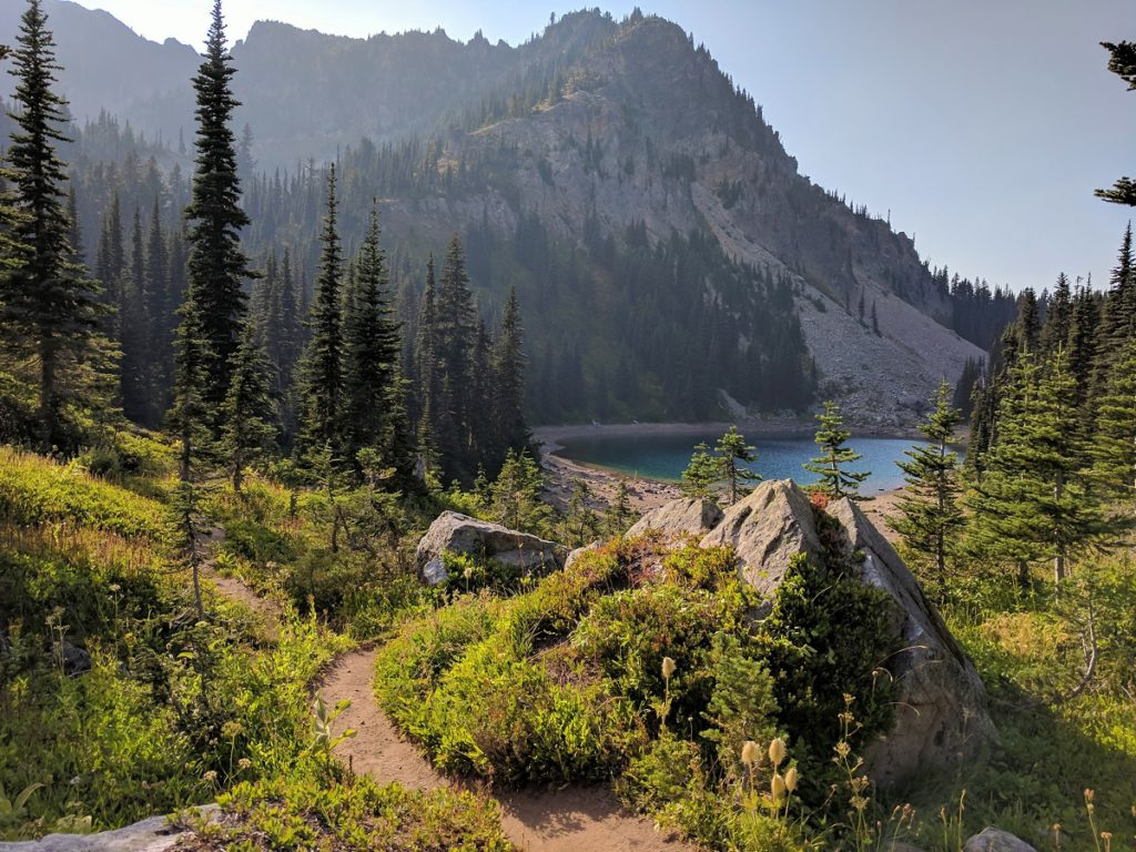 Palisades Lake, Exploring Mt. Rainier: Palisades Lakes Trail