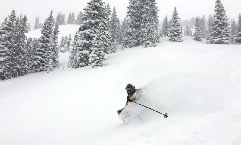 201612 BoulderColorado BackcountrySkiing Image4 Shredding AveryStonich IMG 8385