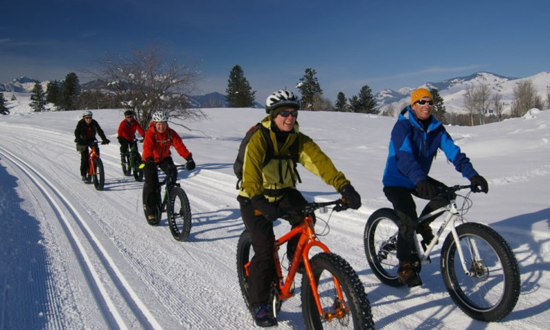 If you haven't tried fat biking yet, now is the time to go.