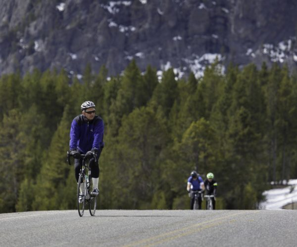 Fall is prime time for biking in Yellowstone.