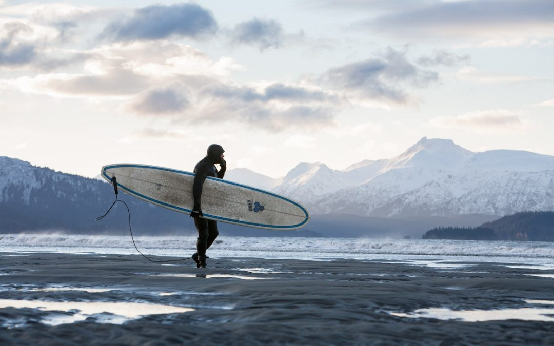Photographing Winter Surfing in Alaska with Scott Dickerson
