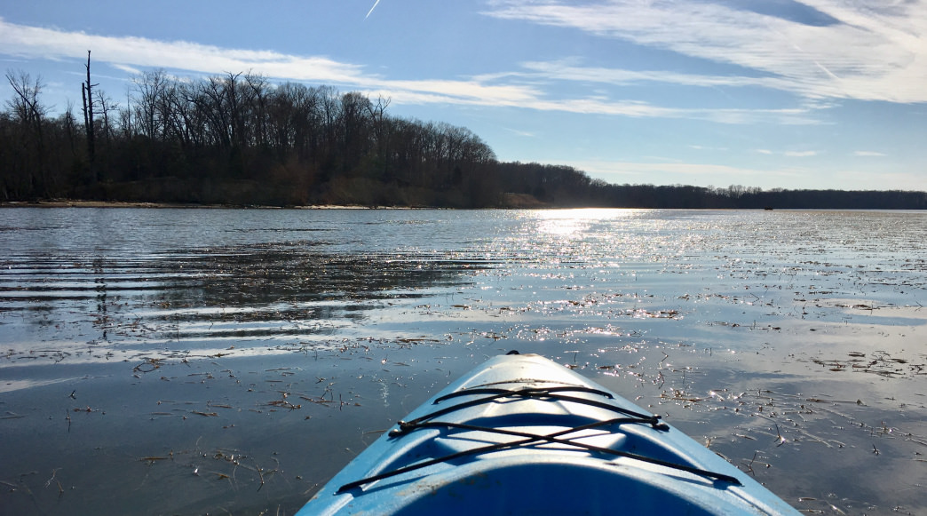 Why You Should Paddle the Potomac in the Dead of Winter