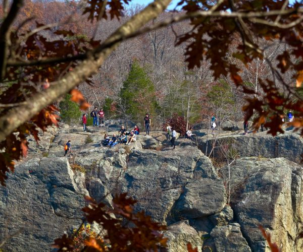 Billy Goat Trail from across the Potomac River for p. 71 if there's room