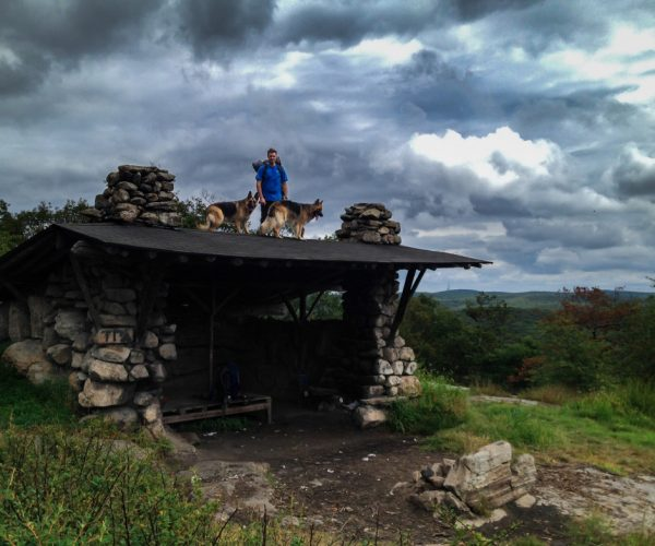 Tom Jones Shelter in Harriman State Park
