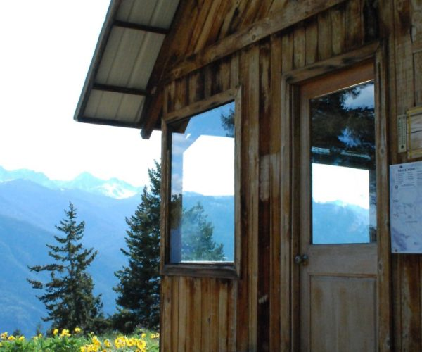 One of the Rendezvous Huts in Methow Valley
