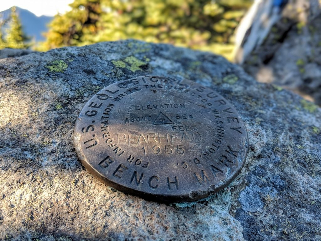 BearheadMountain Marker