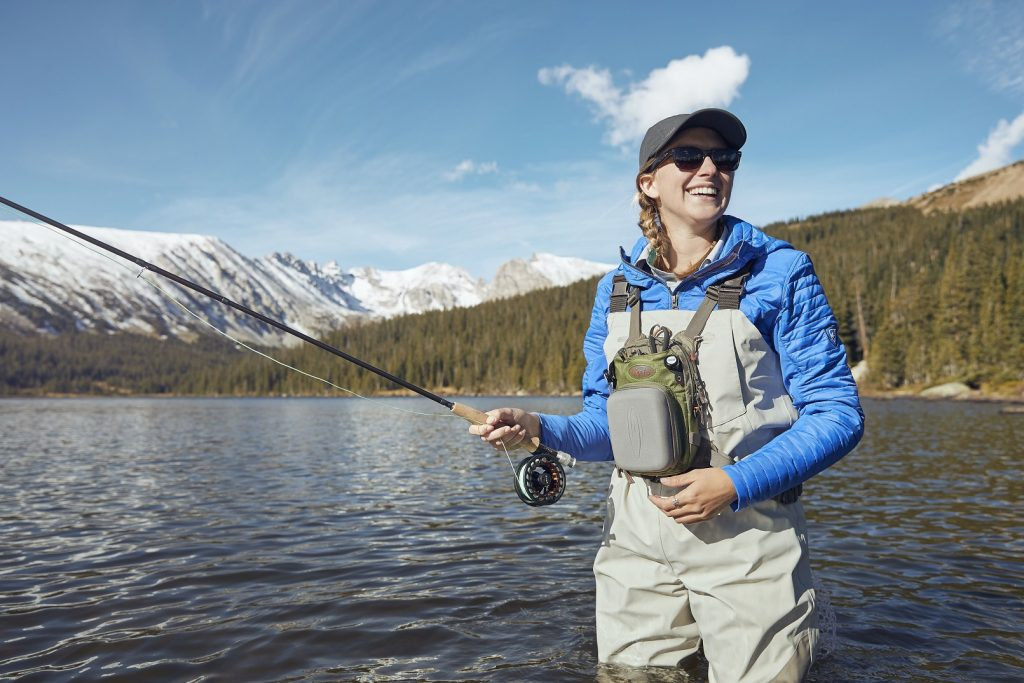 Gearing Up the Flyfishing Greenhorn - in KUHL womens fishing clothing.