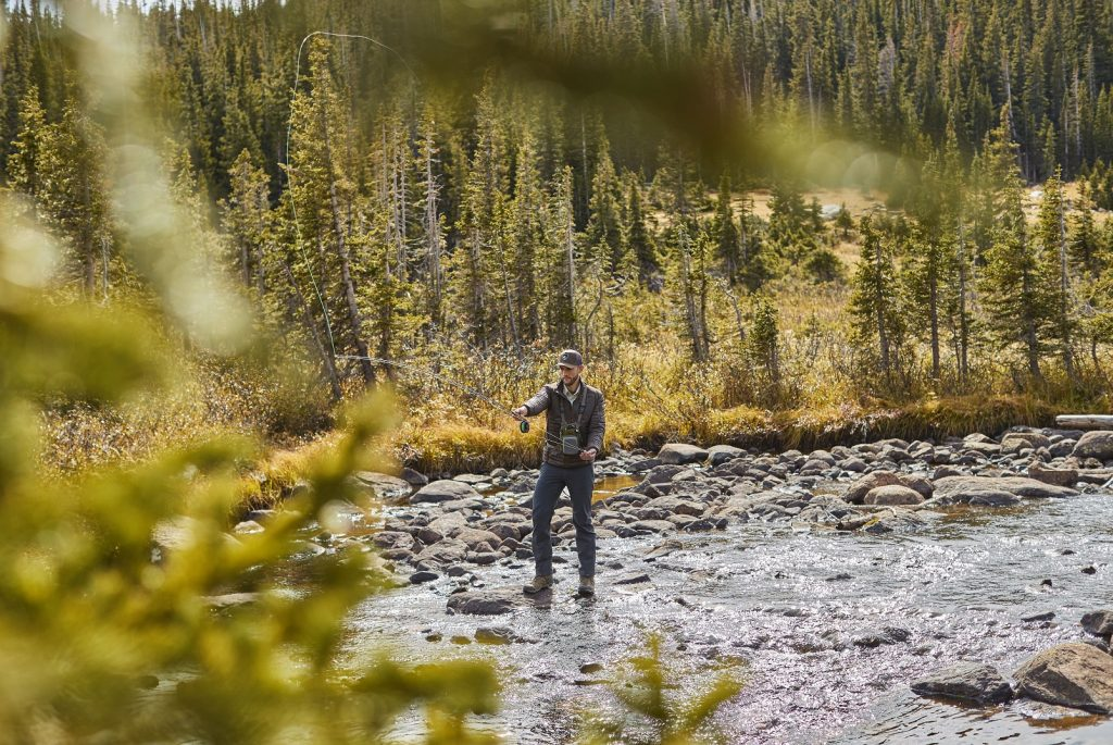 Gearing Up the Flyfishing Greenhorn - in KUHL mens fishing clothing.