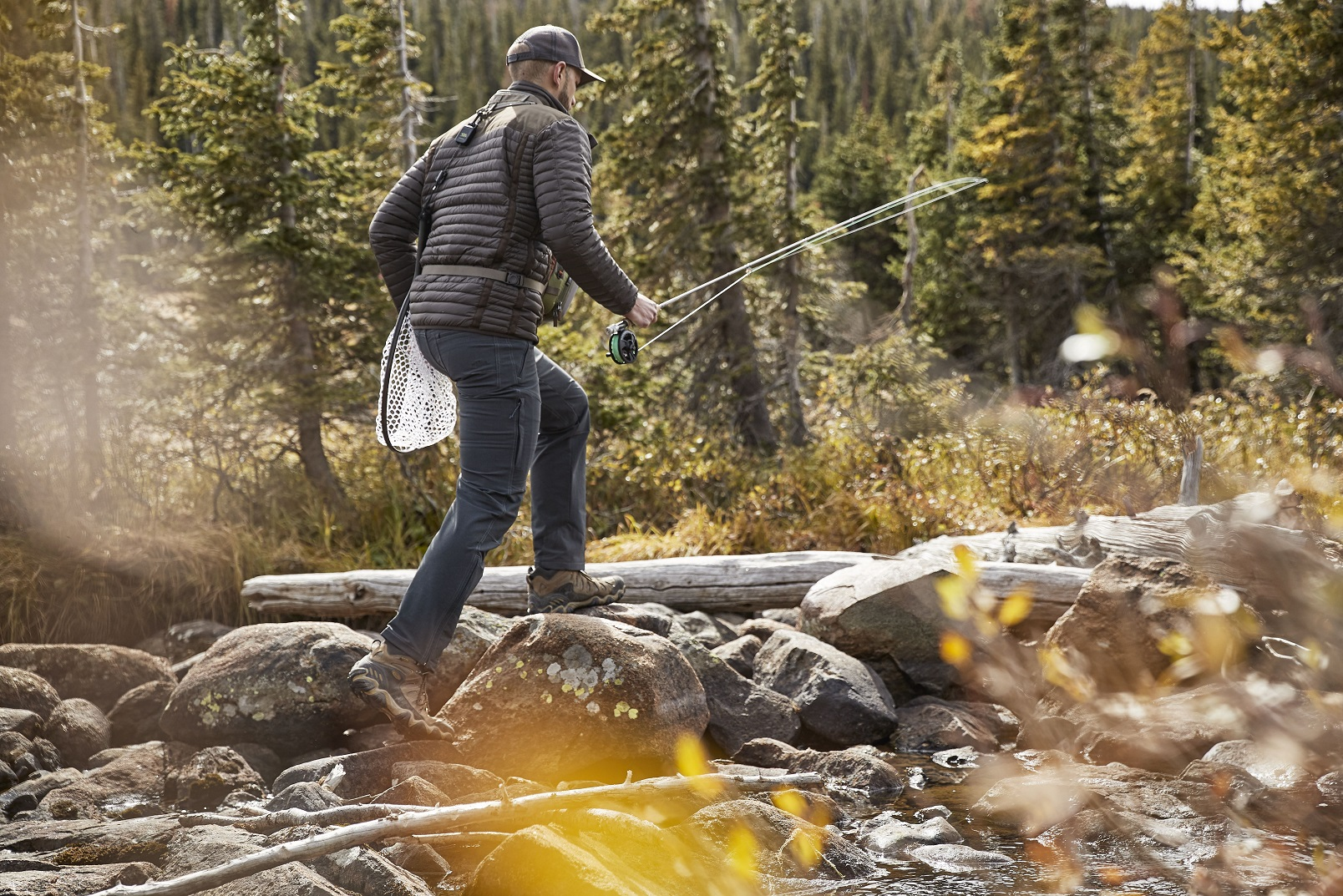Gearing Up the Flyfishing Greenhorn FI with KUHL mens fishing clothing.