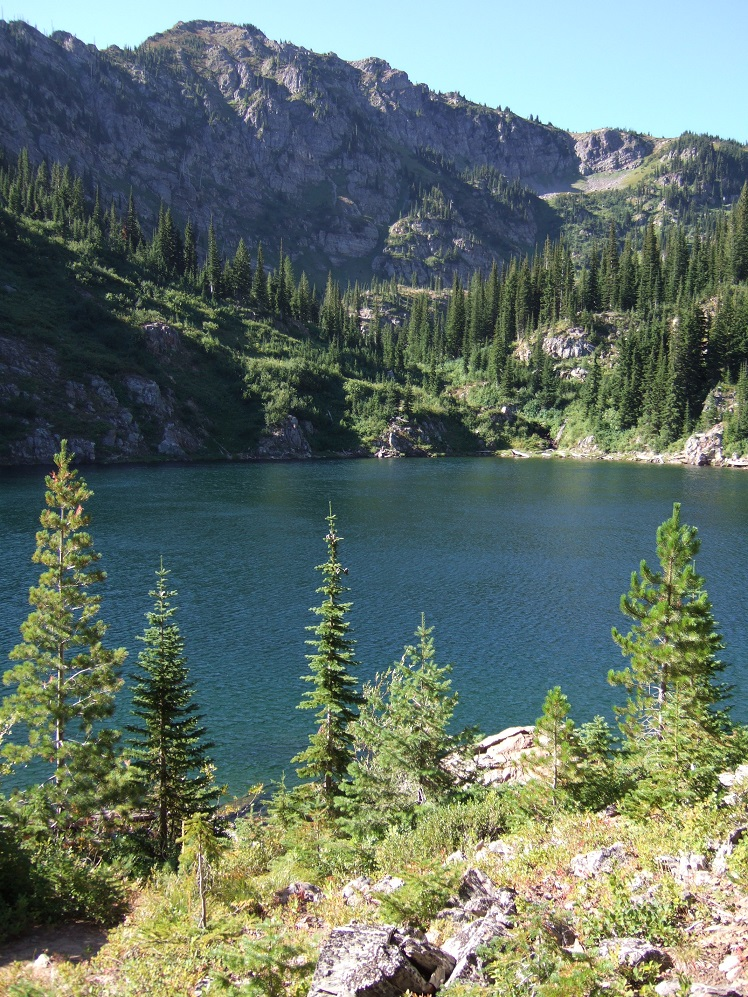 Scotchman Peaks Proposed Wilderness - Lone Lake and Stevens Park, Idaho