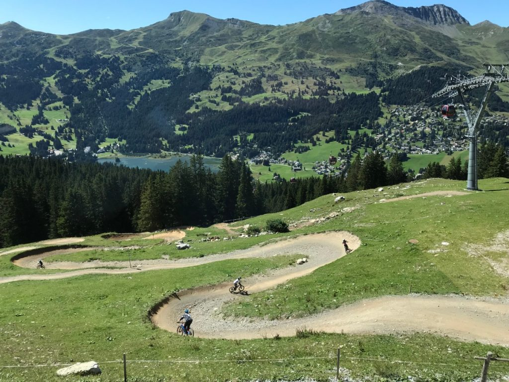 Lenzerheide Bicycle Track MidStation