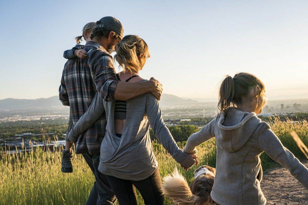 5 Ultimate Adventure Families - A family wearing KUHL clothes