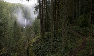Upper North Falls is one of the myriad highlights along the Trail of Ten Falls loop.