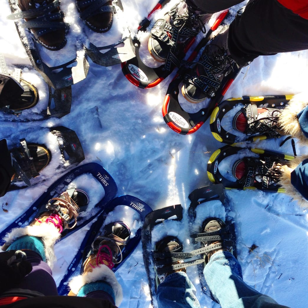 snowshoeing, Snowshoeing 101 for Minneapolitans