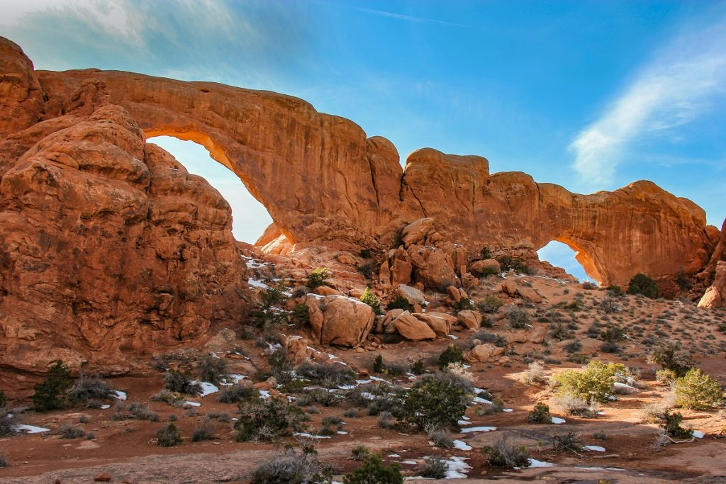 red rock formations during daytime