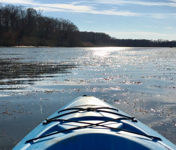 WHY YOU SHOULD PADDLE THE POTOMAC <br>IN THE DEAD OF WINTER