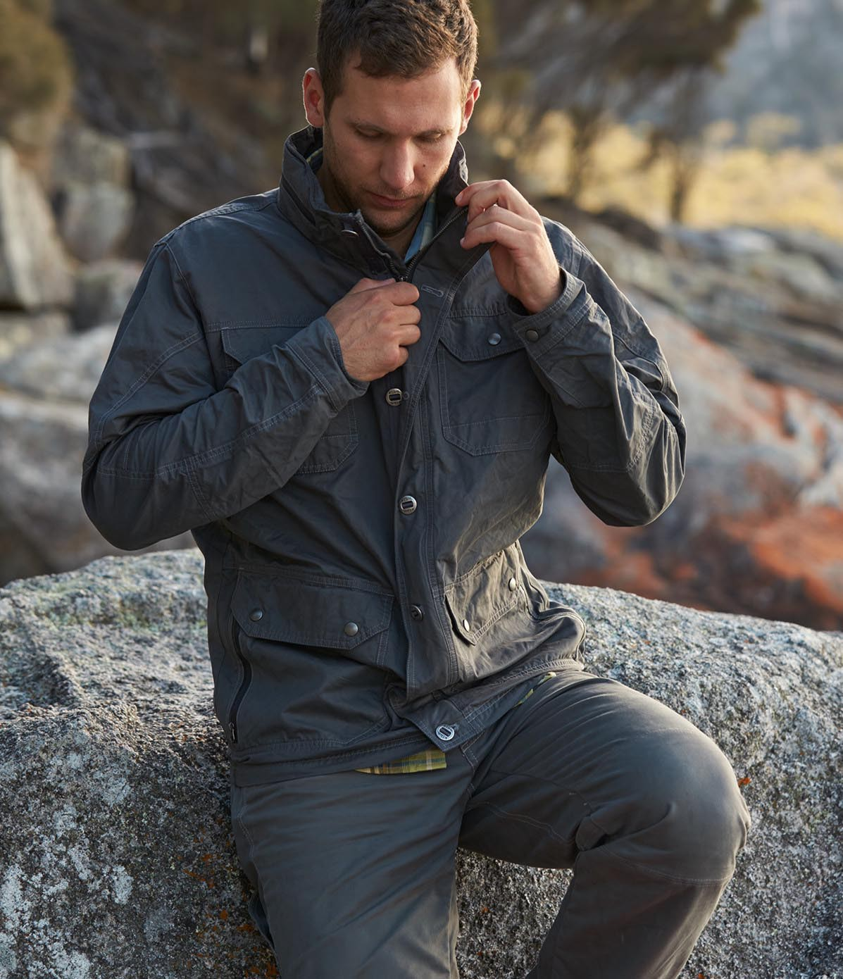 KÜHL's Distinctive Men's Outerwear