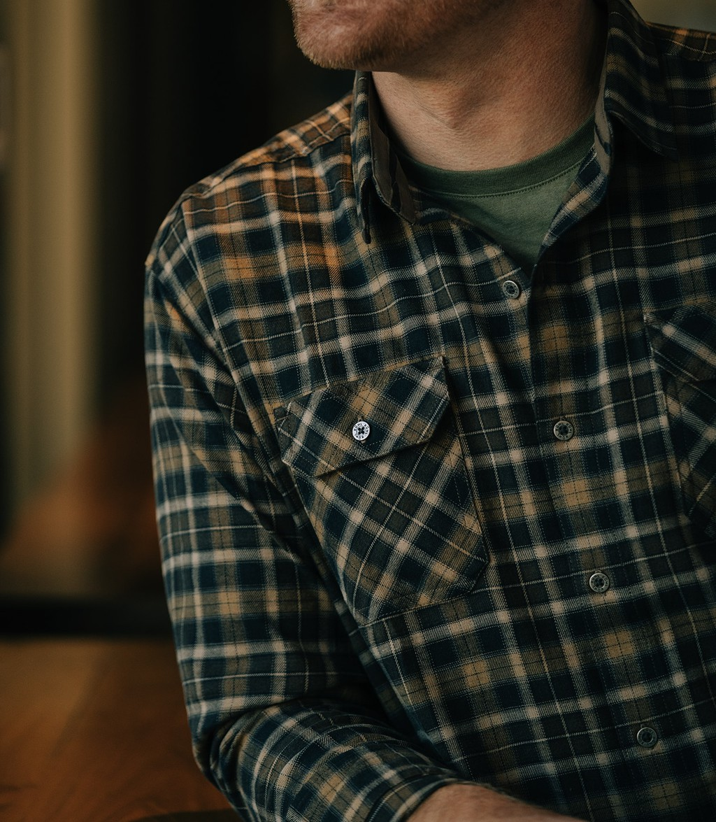 Cabin photo of KUHL men's plaid for craft