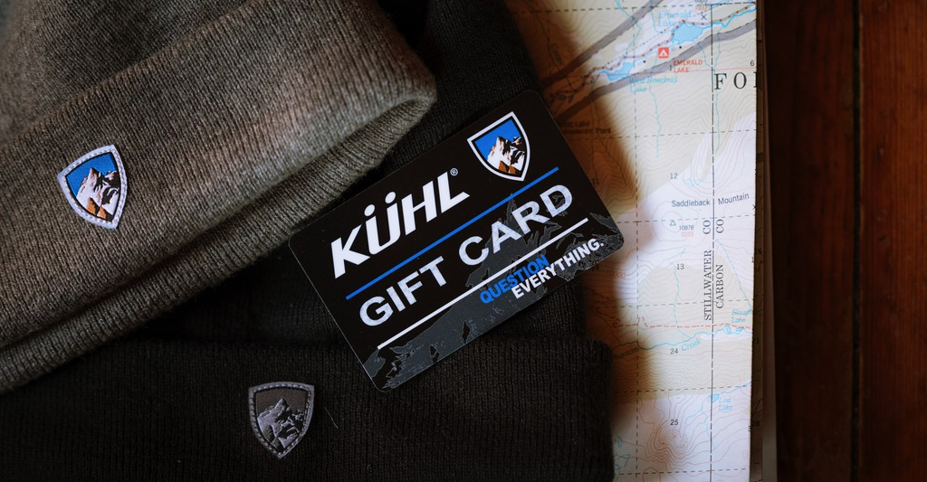 KUHL Gift Card offer on November home page
