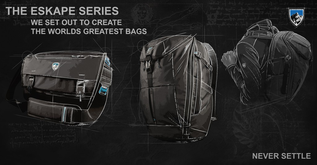 Introducing ESKAPE Series - The Worlds Greatest Outdoor Bags
