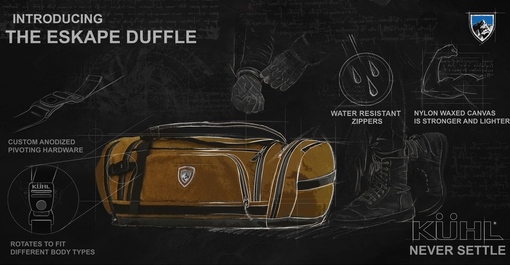 Introducing KUHL Duffel Bag - Features and Fabrics