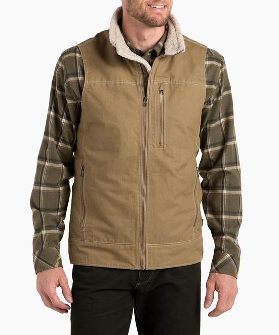 KÜHL Burr™ Vest Lined in category Men's Outerwear / Burr™ Series