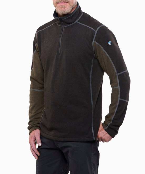 KÜHL Revel™ 1/4 Zip Sweater  in category Men's Fleece / Quarter Zip Fleece