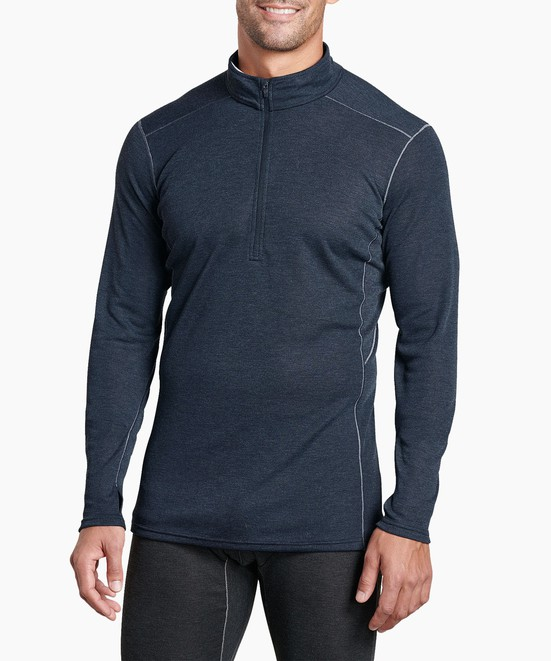 KÜHL M's Akkomplice Zip Neck in category Men's Long Sleeve / Base Layer Tops